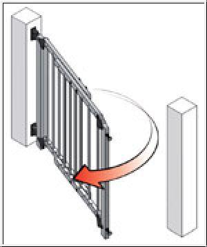 Treppenschutzgitter Befestigung Geländer