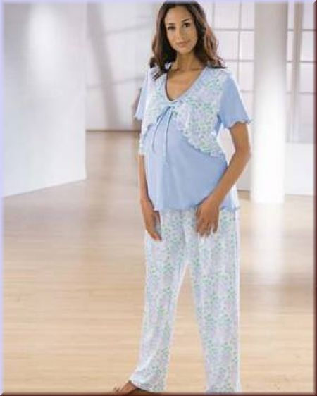 اروع بيجامات للنساء الحوامل